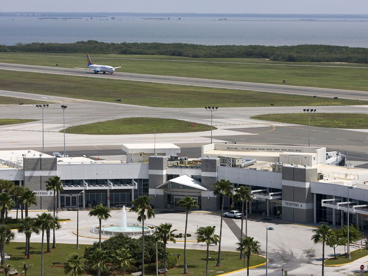 florida airports near clearwater
