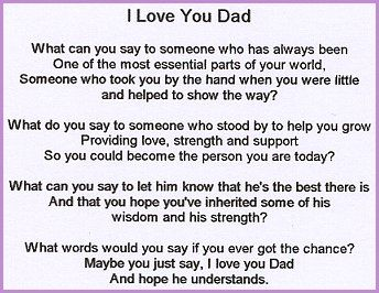 famous father daughter relationship poems love