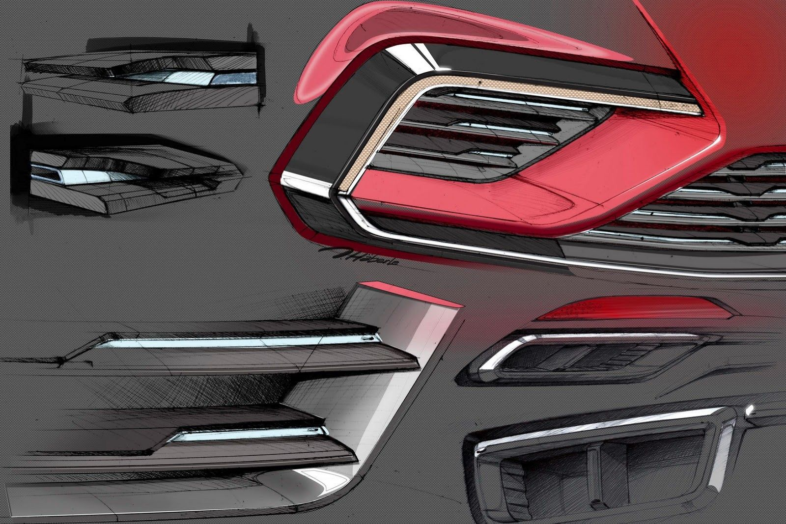 Volkswagen S New Midsize Coupe Sounds Like The Rumored Jetta Cc With Images Industrial Design Sketch Automotive Design Design Motivation