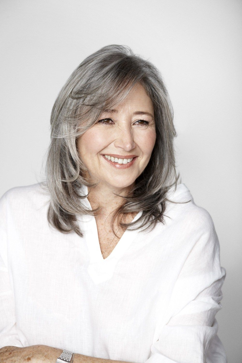 modern haircuts for women over with extra zing silver hair