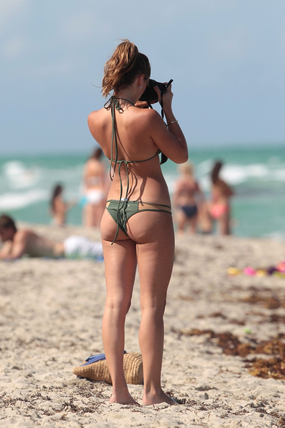Keleigh Sperry in Bikini on the beach in Mexico Pic 19 of 35