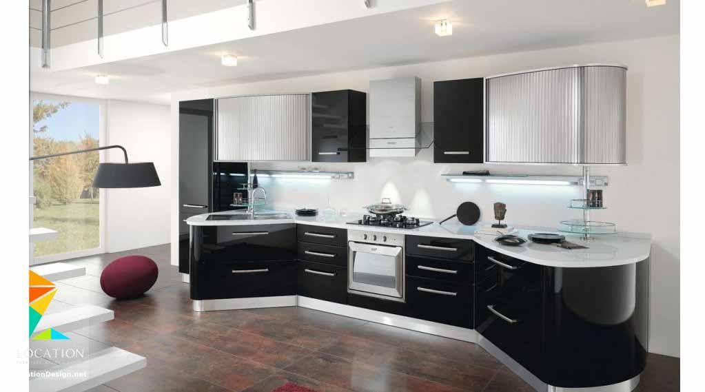 اشكال مطابخ مودرن من احدث كتالوج الوان المطابخ 2019 2020 Kitchen Design Modern Small Kitchen Design Modern White Kitchen Design Images