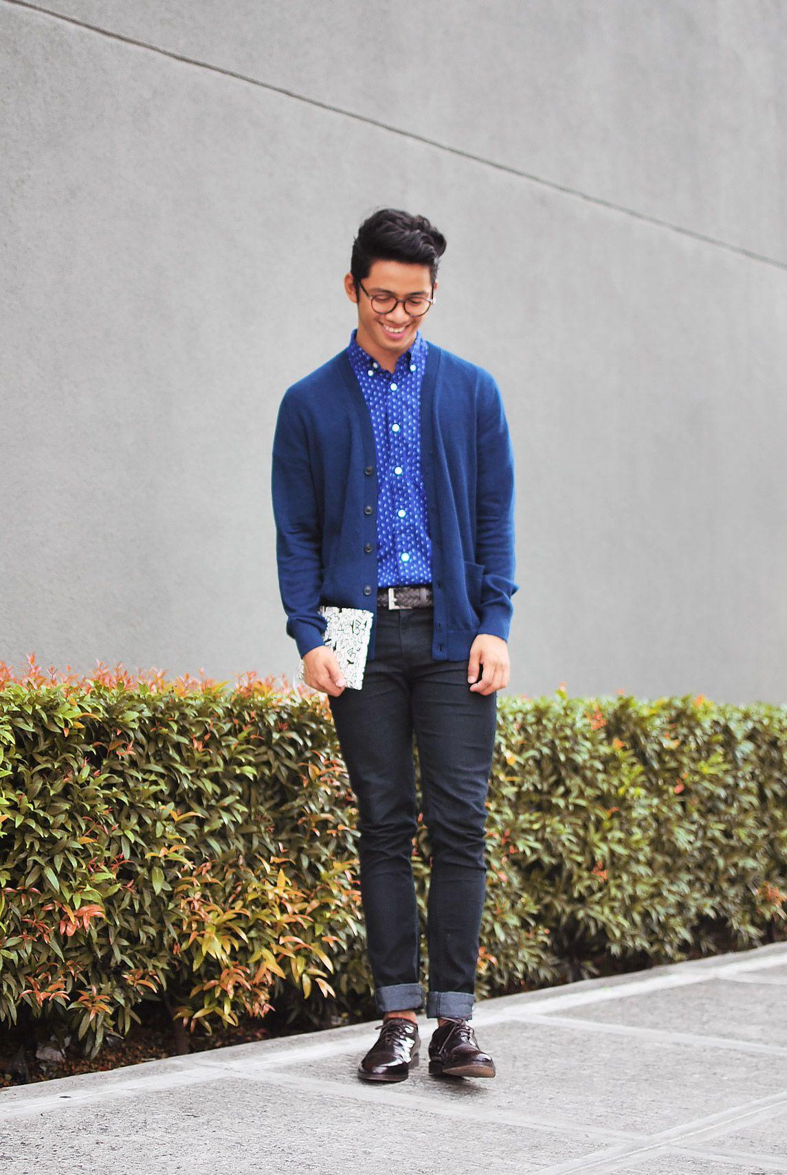 Dg Manila David Guison Geek Fashion Cardigan Fashion Mens Fashion