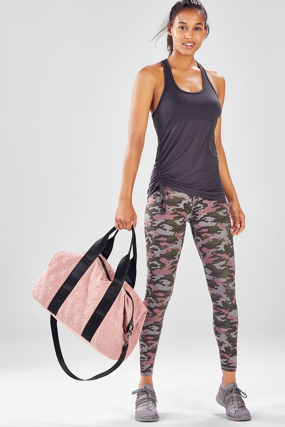 cde6d13bd15 Keep calm and carry on (literally). This outfit comes with all the pieces  you need to take you from workout to day out and everywhere in between.