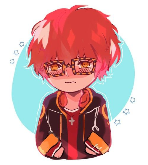 Image about mystic messenger in ○ g a m e  a l l  d a y ○ by 。・°°・◇ ayesha ◇ ・°°・。