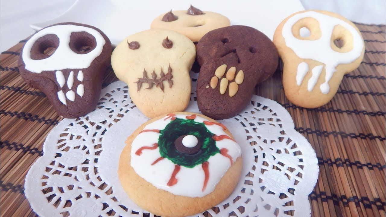 BISCOTTI DI HALLOWEEN FACILI E VELOCI Easy Halloween