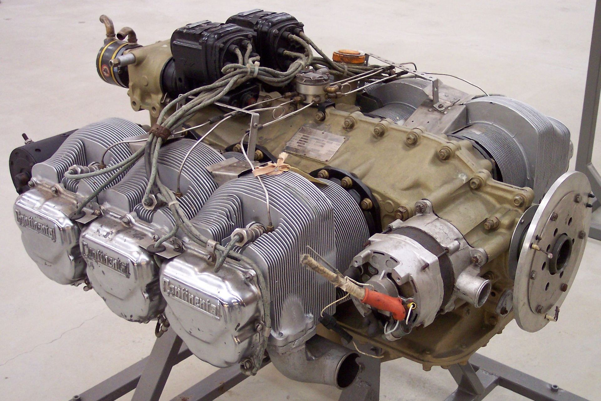 CONTINENTAL IO-520 is a six-cylinder, horizontally-opposed ...