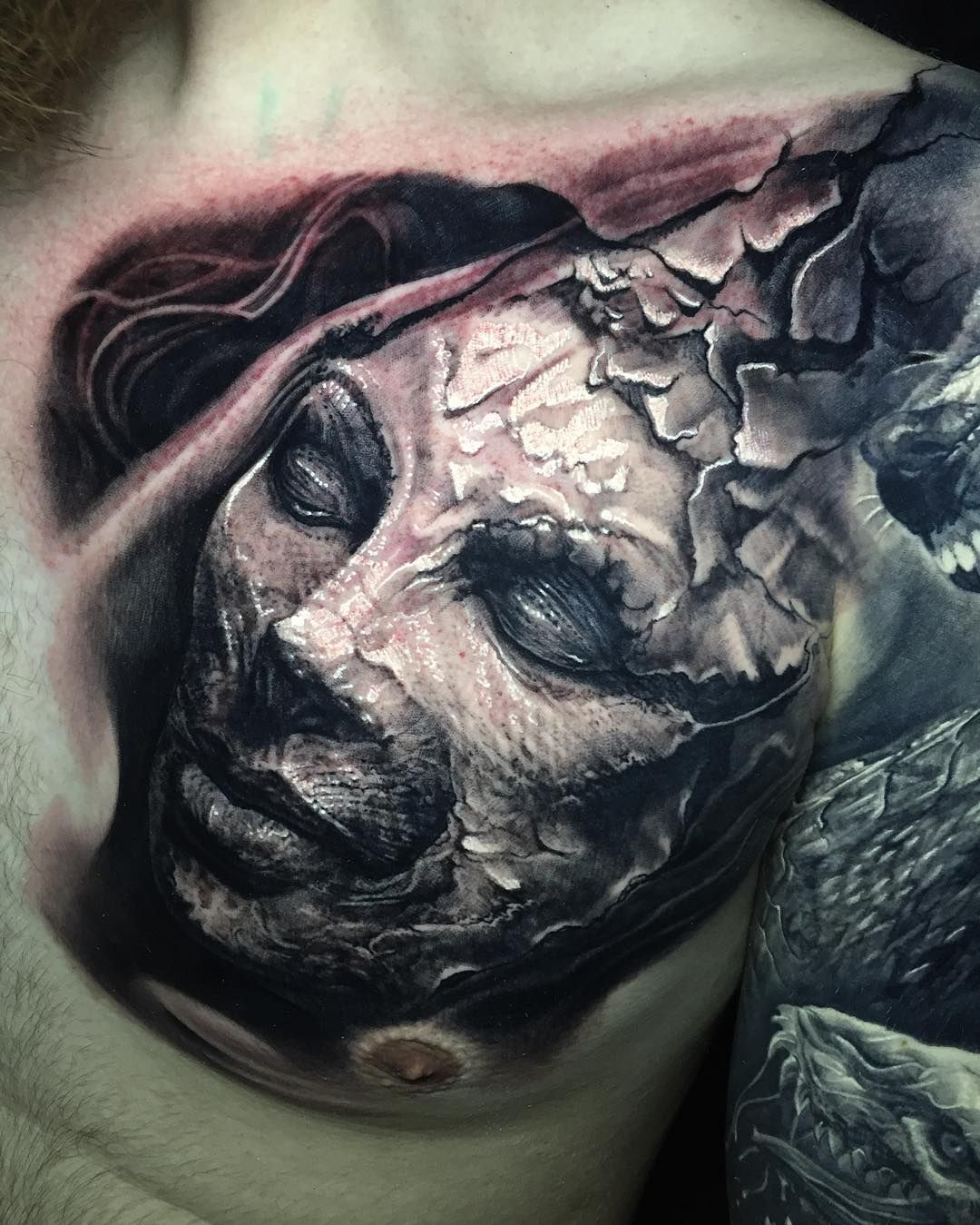 Fantasy And Realism In Tattoo Works By Boris Tattoos Fantasy