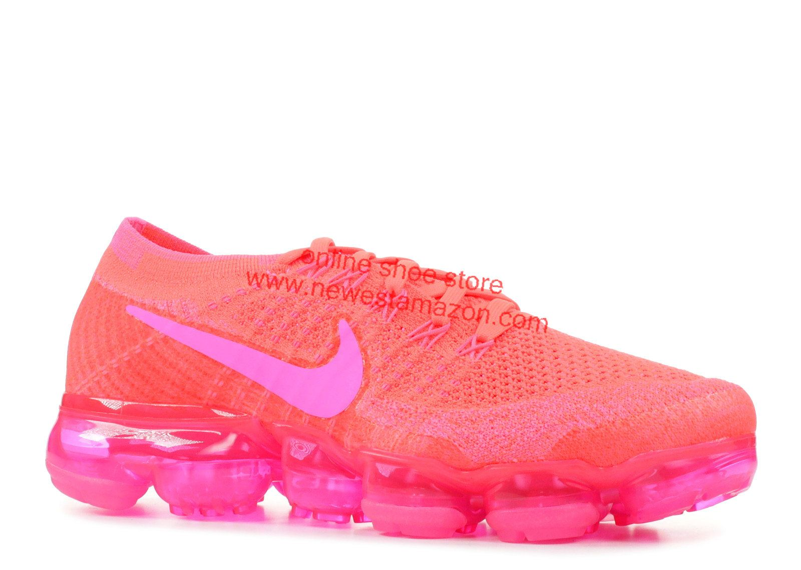 27da49f60394 Spring Summer 2018 Popular Nike Air Vapormax Flyknit Hyper Punch Pink Blast  849557 604 Sneaker