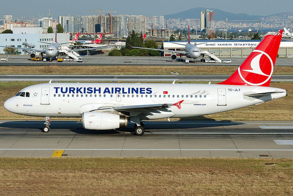 "https://flic.kr/p/YRhqYe   TC-JLT  Turkish Airlines Airbus A319-132 ""Adilcevaz""   TC-JLT (cn 4665) ""Adilcevaz"""