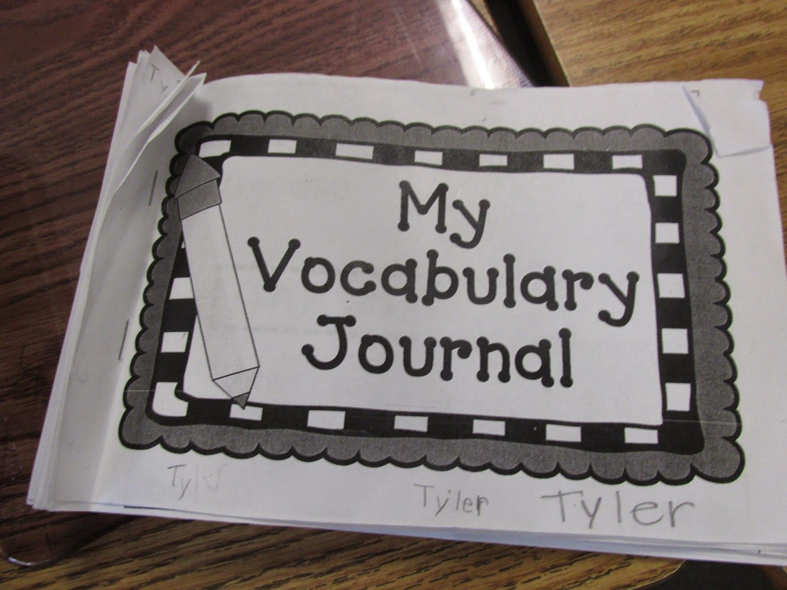 Rigorous Reading And The Vocabulary Notebook