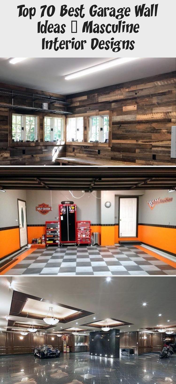 Rusted Steel With Natural Wood Planks Garage Wall Interior Design Interiordesignpos In 2020 Masculine Interior Design Wallpaper Interior Design Unique Interior Design