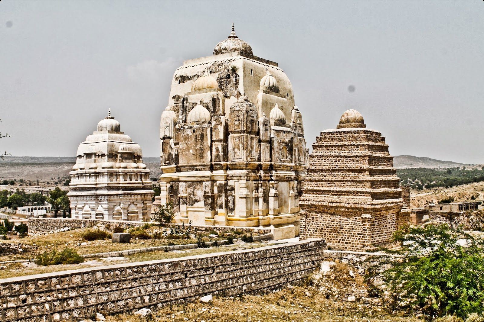 The Katas Raj Temple In Chakwal Punjab Remains Of The