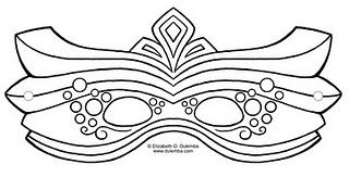 nice mask template crafts for fun pinterest mardi gras