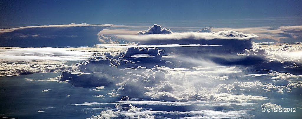 Panoramio - Photo of Flight Início • 18 • Em espaço aéreo mexicano • Mais Baja México