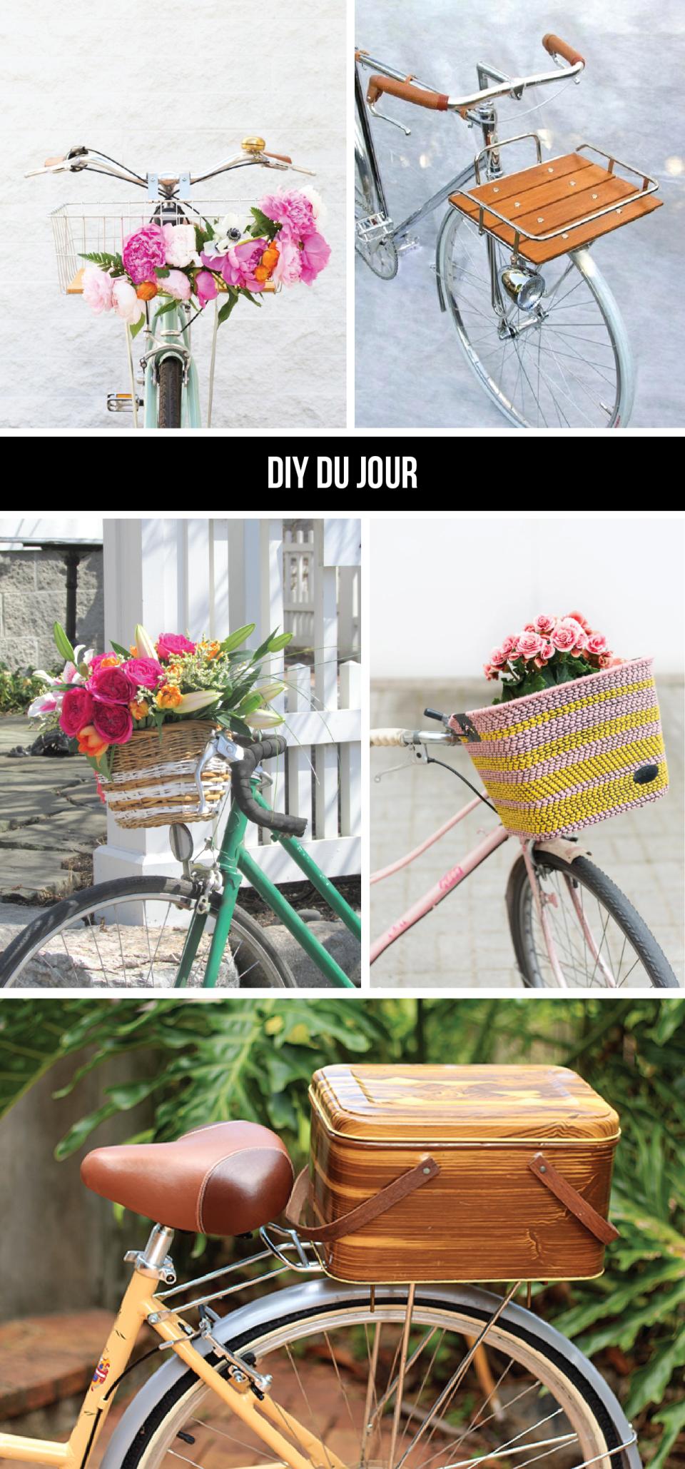 DIY du Jour: Bike Baskets to Pimp Your Summer Ride