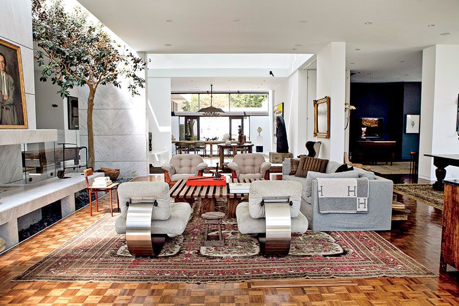 Ellen DeGeneres New Interior Design Book Home | Hal Levitt Designed  Trousdale Estates House.