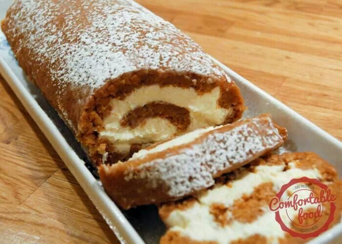 Fabulous pumpkin roll