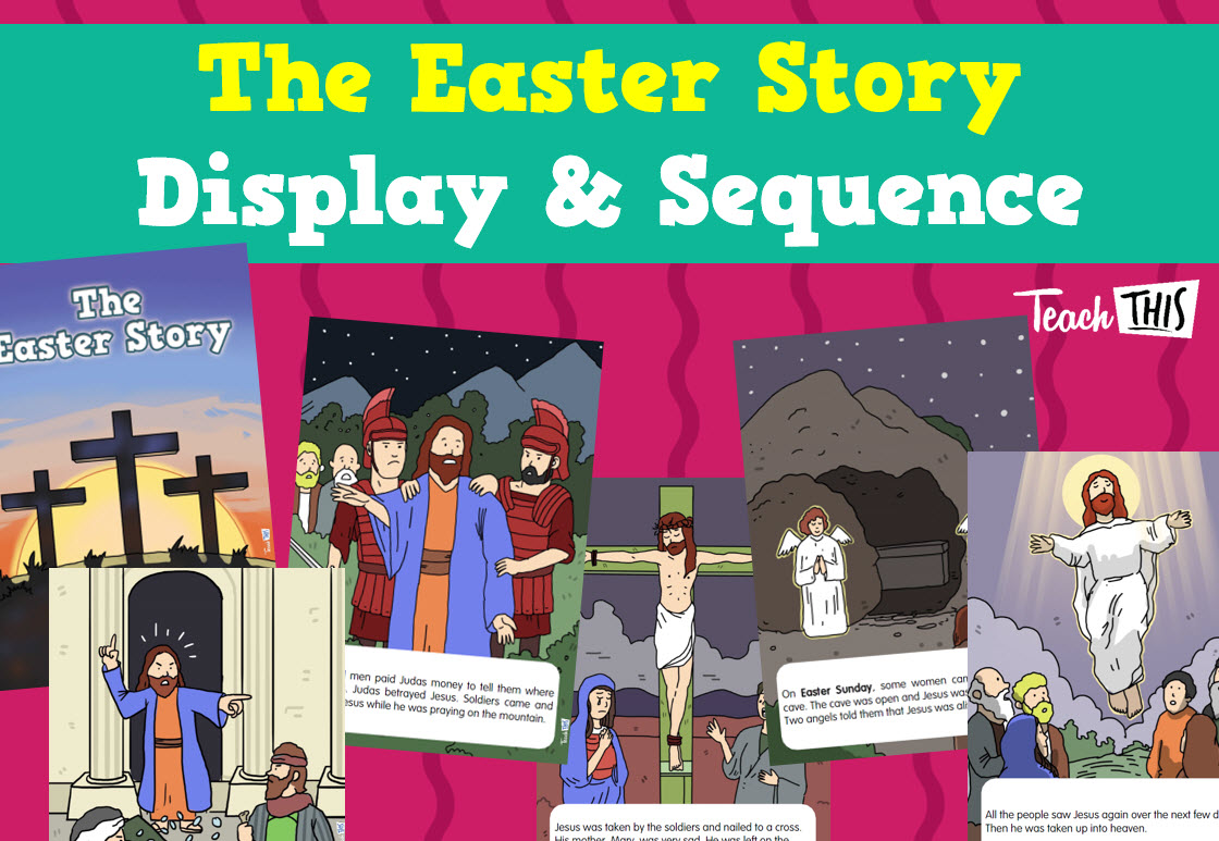 Easter Story Display Amp Sequencing With Images