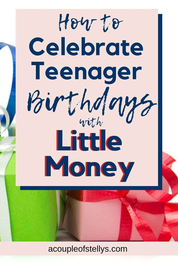How to Celebrate a Birthday With Little Money #partybudgeting