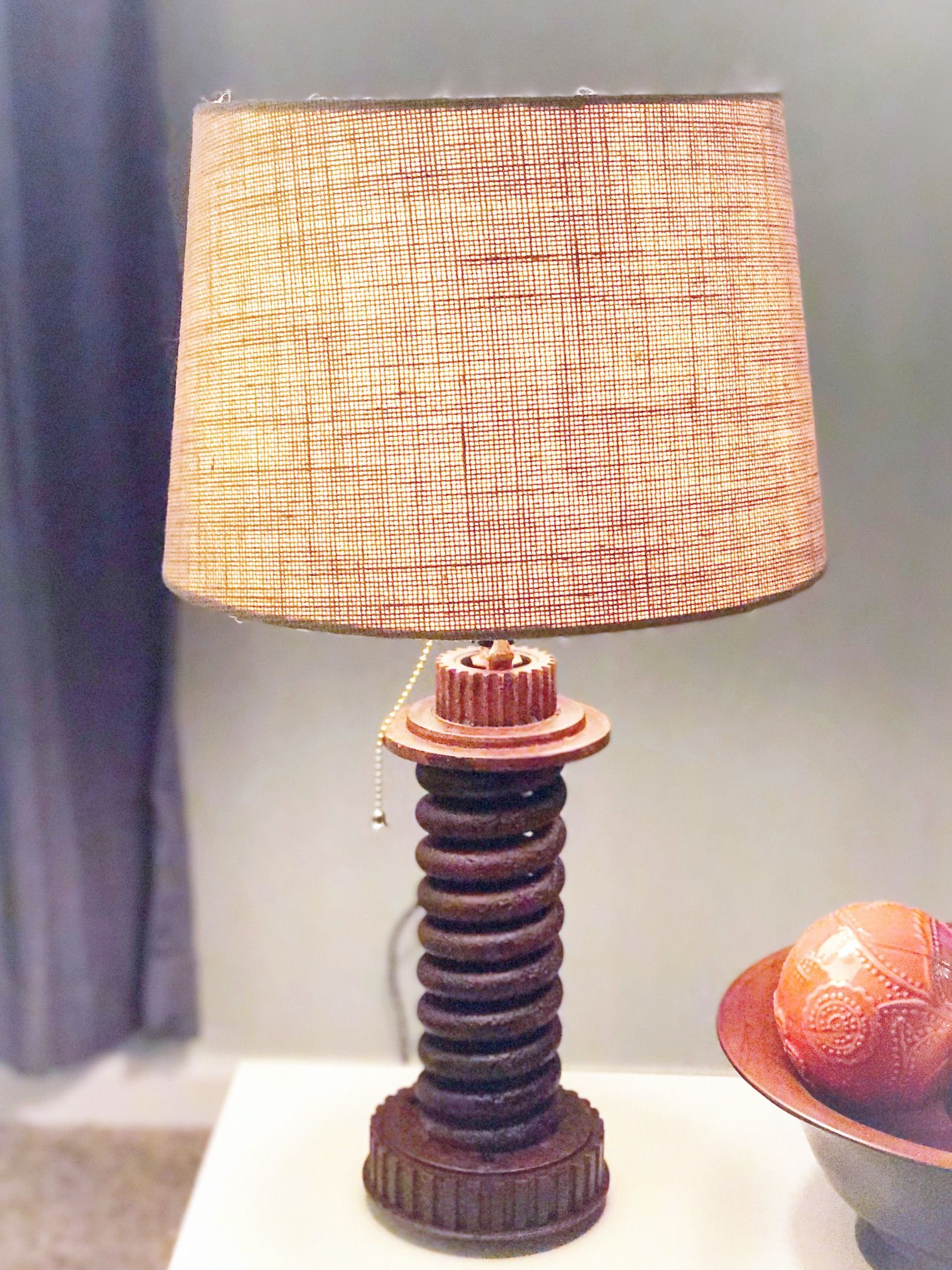 Upcycled Spring Lamp by Ridge&HollowLLC Industrial