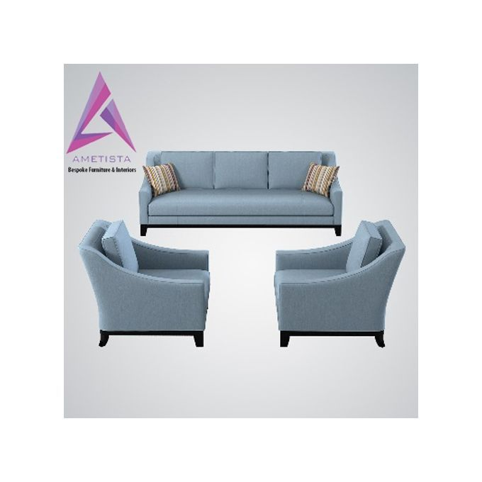 Perfect Ametista Blu Sofa_Bespoke Furniture U0026 Interiors(Delivery In Lagos Only) | Buy  Online |