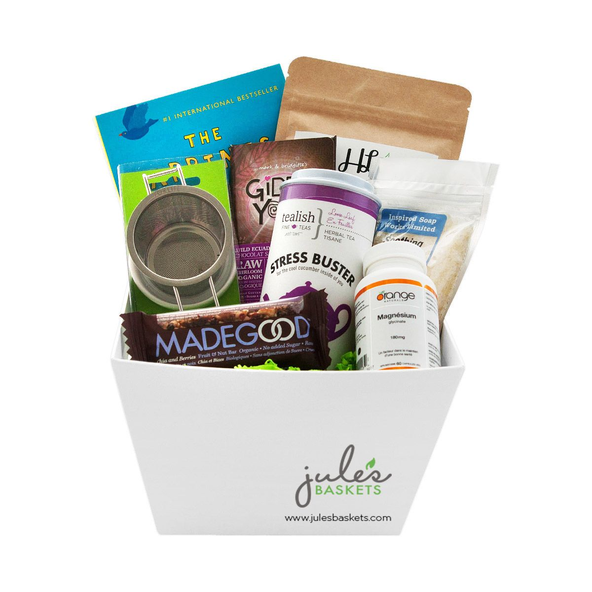 Stress busting basket 9799 by jules baskets treats organic stress busting basket 9799 by jules baskets treats organic glutenfree negle Image collections