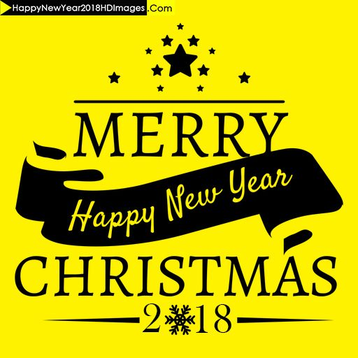 We Here Bring To You Latest Merry Christmas And Happy New Year 2018  WhatsApp DP Images Which You Can Use For Free To Wish Your Beloved Ones.