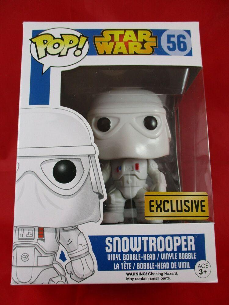 Star Wars Snowtrooper Exclusive Funko Pop Vinyl Figure Bobblehead 56