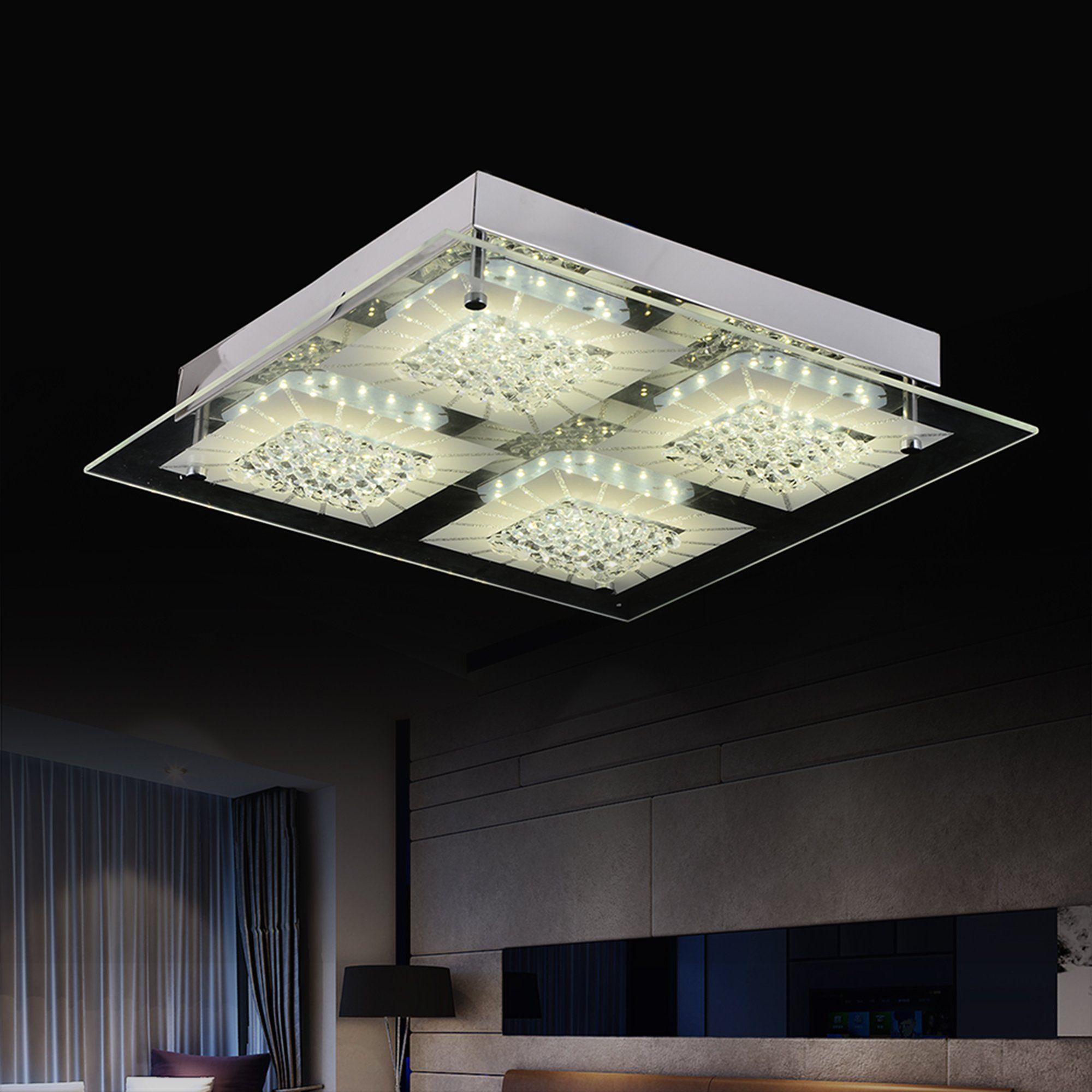 Ceiling Light Modern Flush Mount Ceiling Lamp Dimmable Led Kitchen