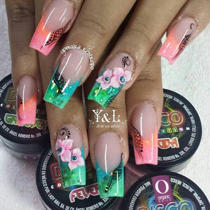 Arte de uñas Yomaira y Lady   uñas   Pinterest   Arte de uñas, Uñas ...
