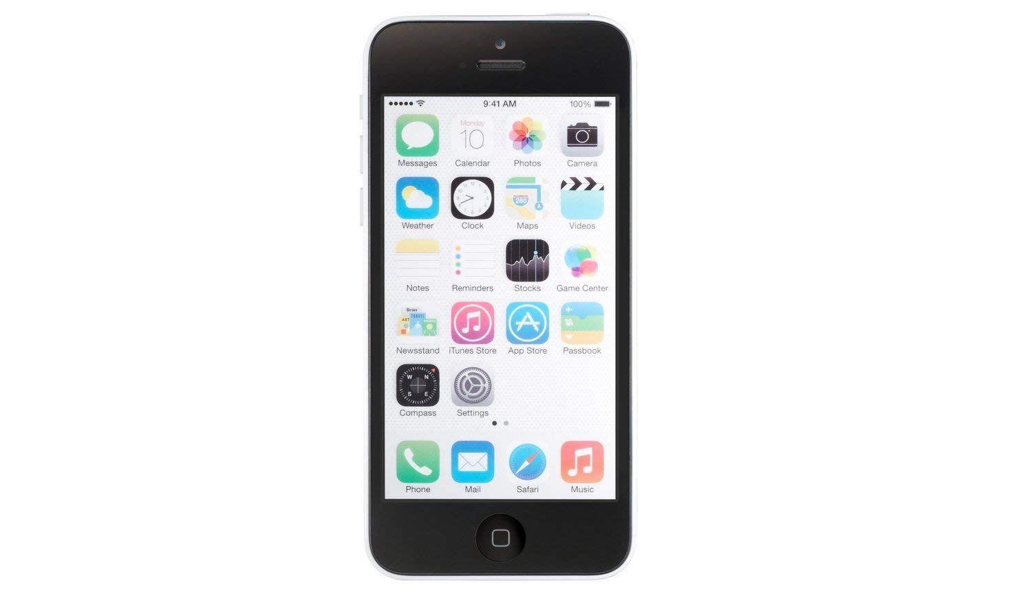 Apple iphone 5c factory unlocked cellphone 8gb white price
