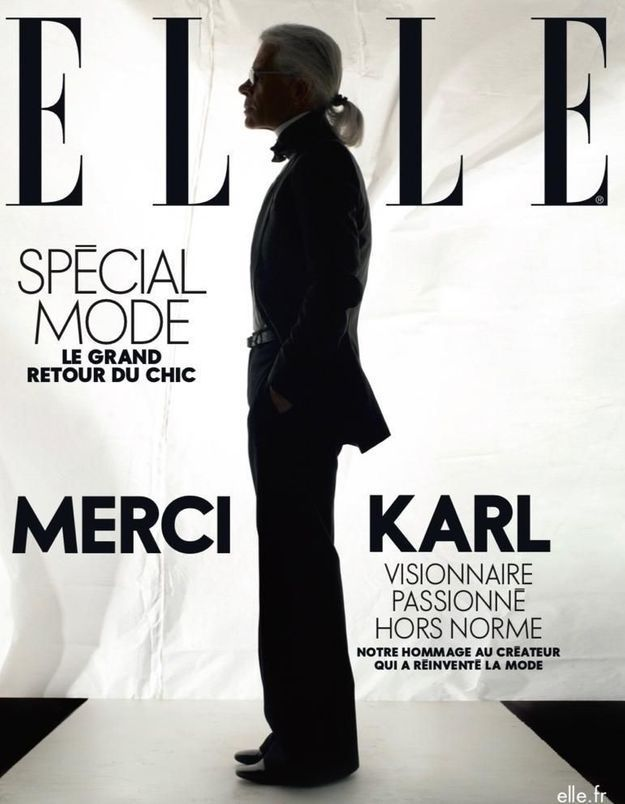 Karl Lagerfeld : retrouvez notre spécial mode avec la couv hommage