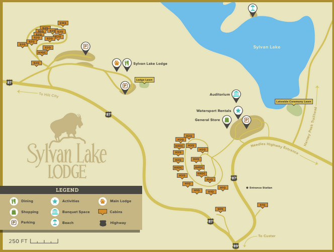 Sylvan Lake Lodge Lodges Cabins Custer State Park Resort Sylvan Lake Lake Lodge Custer State Park