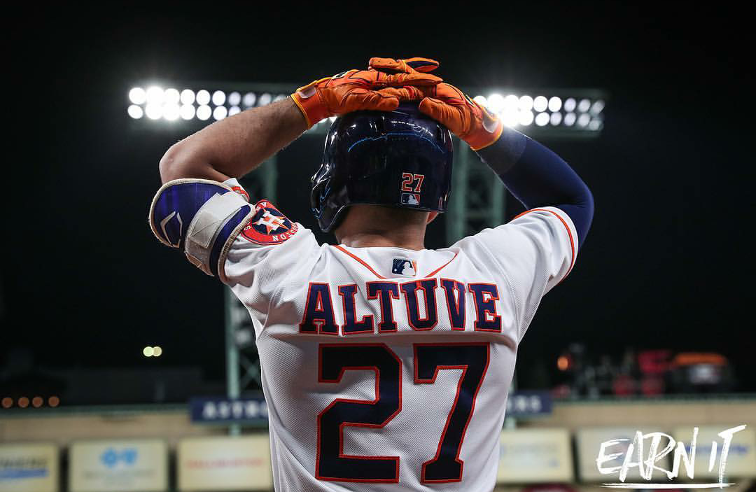 Jose Altuve (Houston Astros) for the ASG. (With images ...