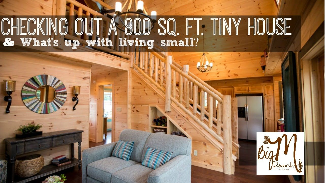 Checking Out An Sq Ft Tiny To Us House Small Spaces