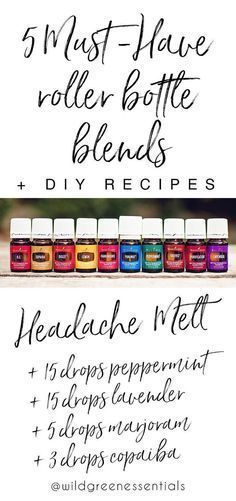 Essential Oil Blends I Can't Live Without + How to make them! 5 DIY Essential Oil Roller Bottle Blends! Learn how to make these must-have roller bottles with Young Living essential oils. Click through to read more, or pin to save for later.5 DIY Essential Oil Roller Bottle Blends! Learn how to make these must-have roller bottles with Young Living essential oils. Click ...