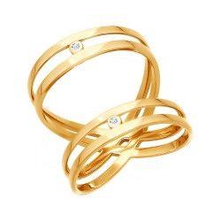 Gold-Ring mit Zirkonia