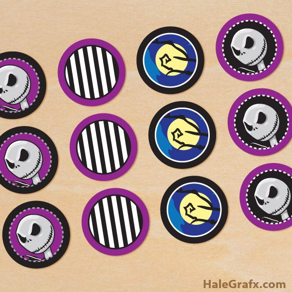 Click here to download FREE Printable Halloween Nightmare before ...