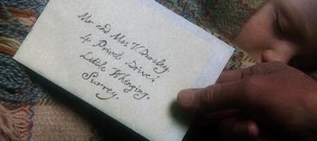 Albus Dumbledore S Letter To Petunia Dursley The Sorcerer S Stone Sorcerer Albus Dumbledore