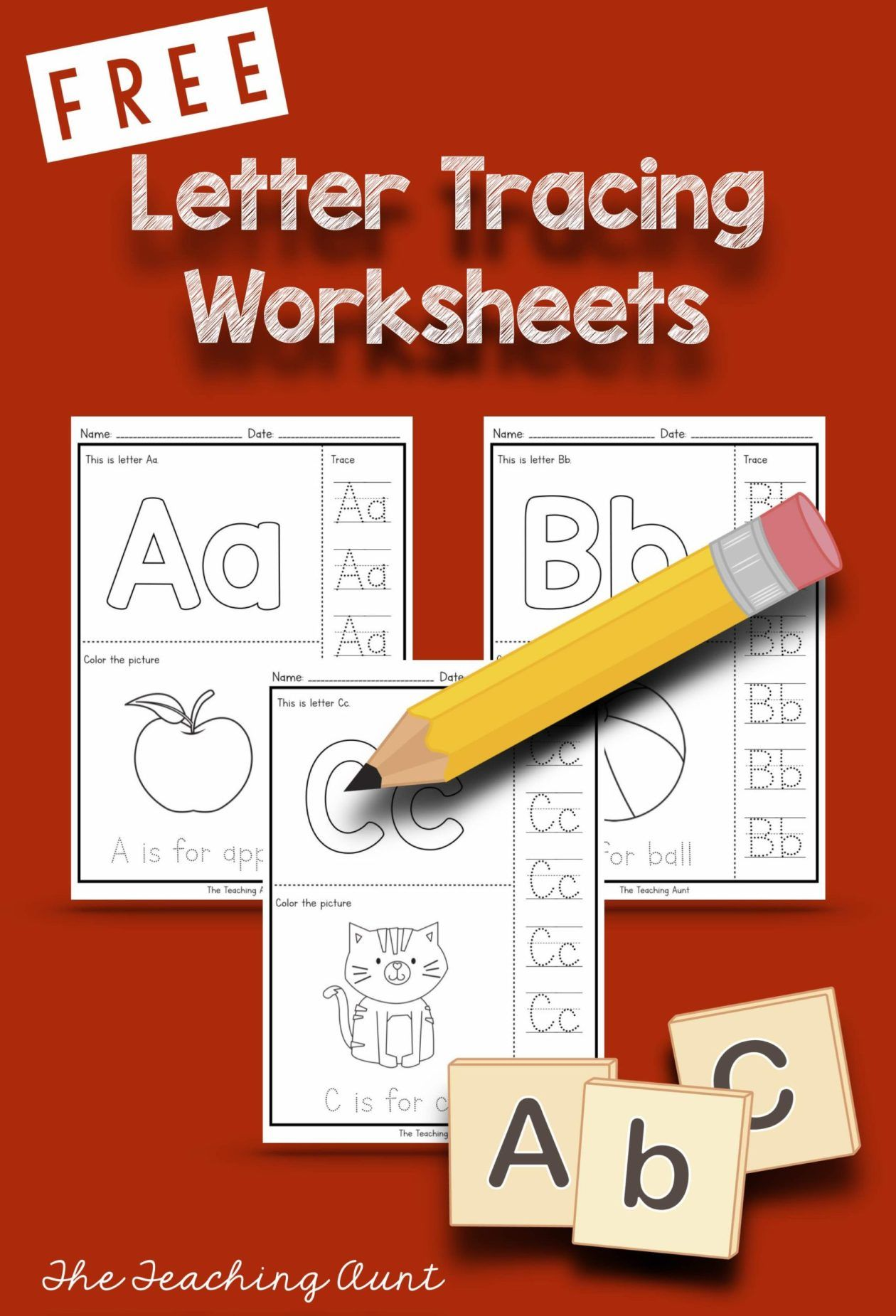 Letters Tracing Worksheets The Teaching Aunt Letter Tracing Worksheets Tracing Letters Tracing Worksheets [ 1851 x 1260 Pixel ]