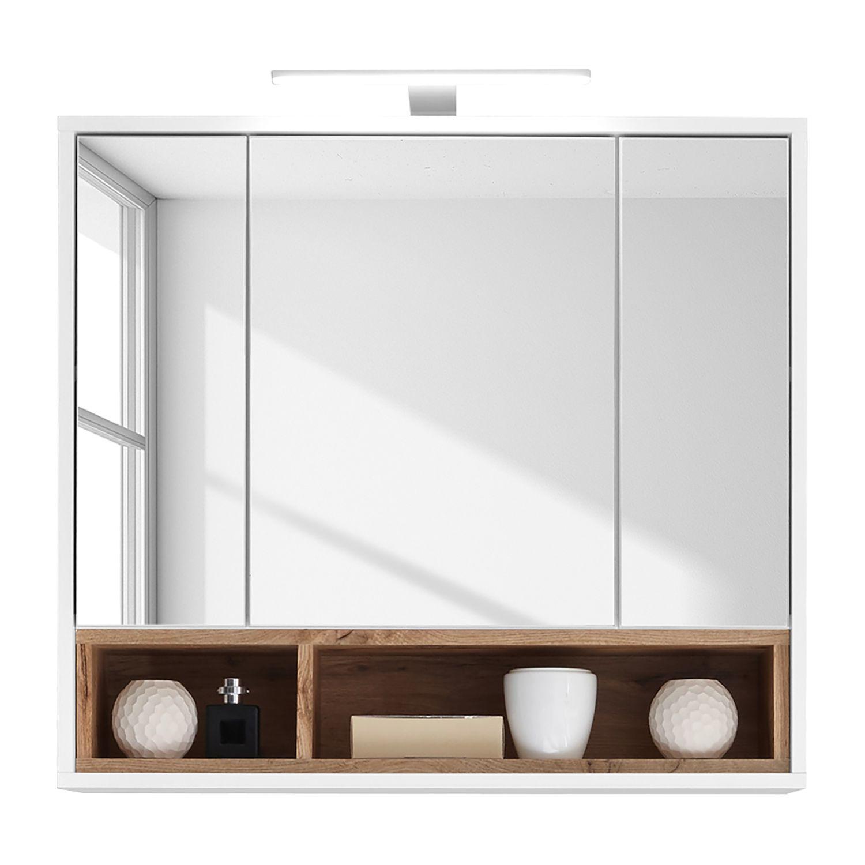 Gunstige Spiegelschranke Mit Licht Badmobel Holz Mit