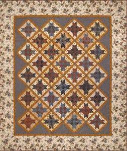 Jo Morton quilt 'Homecoming'- Savannah fabric line free pattern ... : savannah quilt pattern - Adamdwight.com