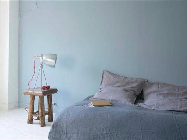 Peinture Mur Gris Bleu   Deco   Pinterest   Murs Gris Bleu