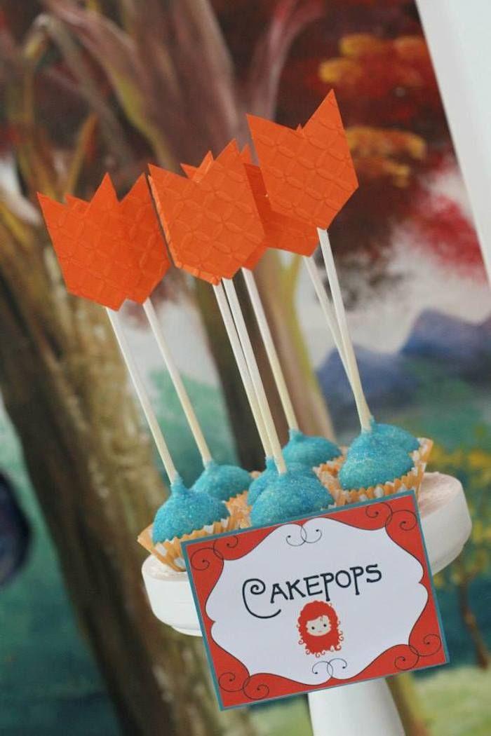 Brave + Merida themed birthday party Festa temática
