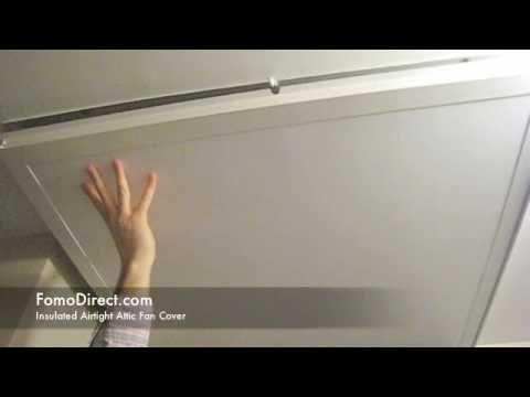 World S Best Energy Saving Attic Fan Cover Youtube Attic Fan Whole House Fan House Fan