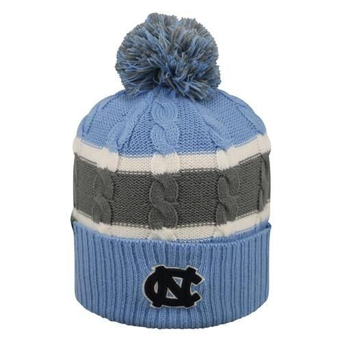 Youth Cable Knit North Carolina Tarheels UNC Beanie