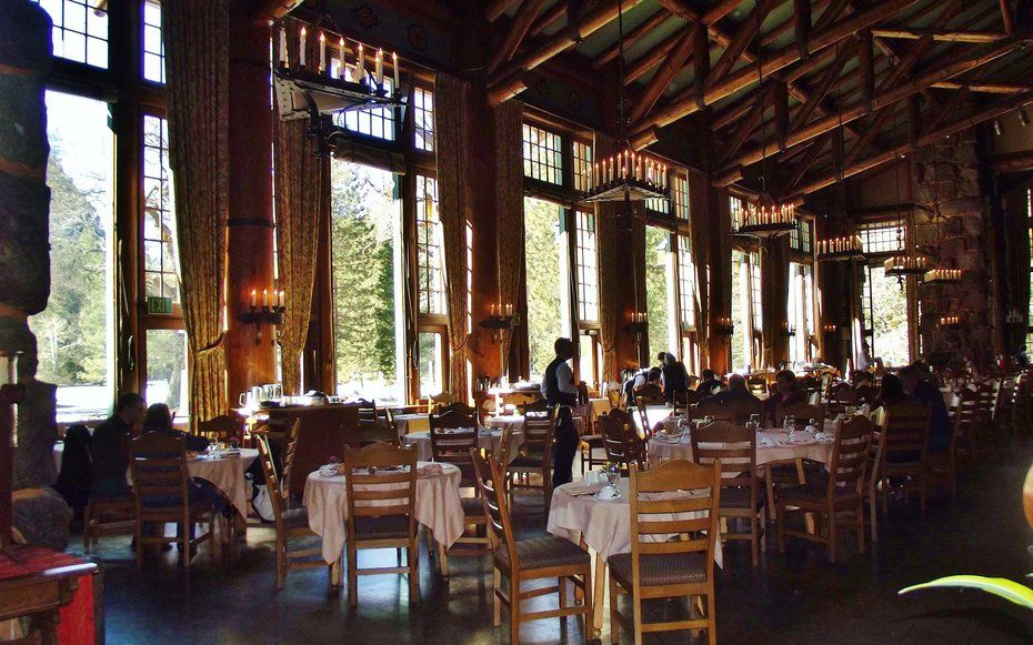 Ahwahnee Hotel Dining Room The Best Restaurants Near National Parks  Park Restaurants And