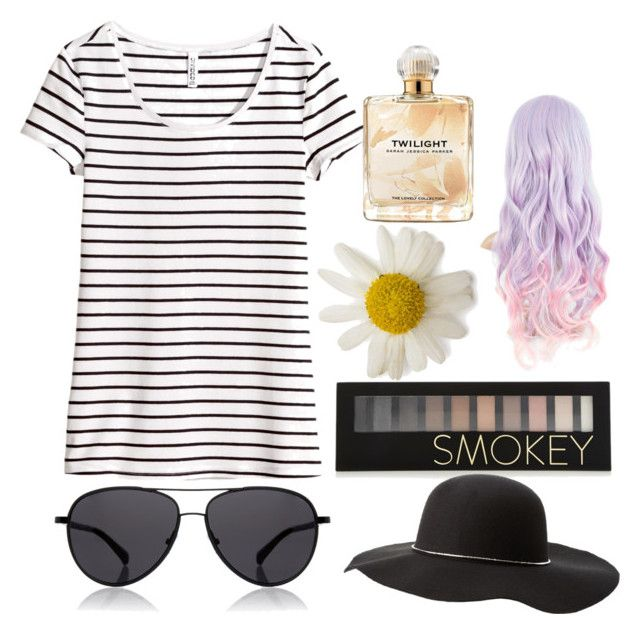 """""""Untitled #126"""" by courtney-sait on Polyvore featuring H&M, Forever 21, Sarah Jessica Parker, The Row and Charlotte Russe"""