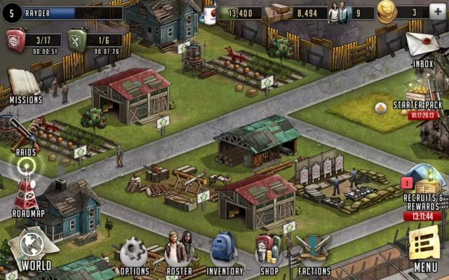 Walking Dead Road To Survival Is A Free To Play F2p Role